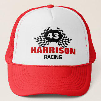 Personalized Racing Family Trucker Hat