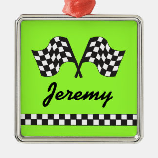 Personalized Racing Ornament Keepsake Gift