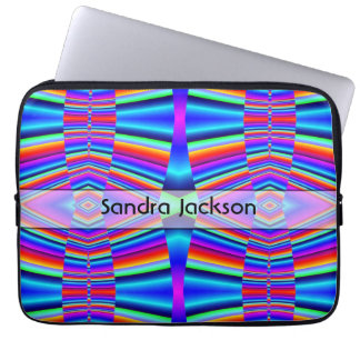 Personalized Rainbow colors Laptop Sleeves