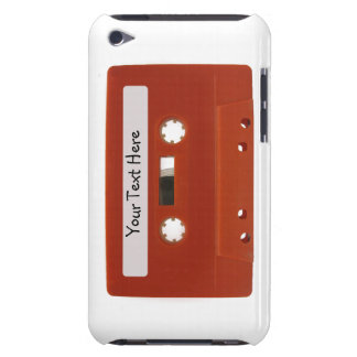 Personalized Red Cassette Tape iPod Touch Case