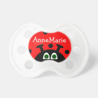 Personalized Red Ladybug Dummy