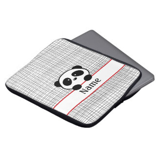 Personalized Red Panda Laptop Sleeve - 13 inch