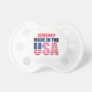 "Personalized Red, White and Blue ""Made in the USA"" Dummy"