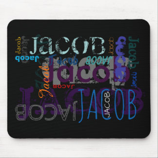 Personalized Repeating Name 5 letters Mousepad
