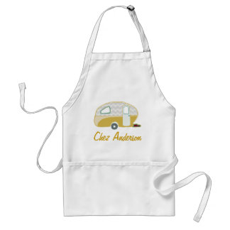 Personalized Retro Caravan Aprons