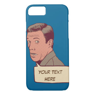 Personalized retro iPhone 8/7 case