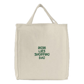Personalized Reuseable Shopping Bags! Embroidered Bag