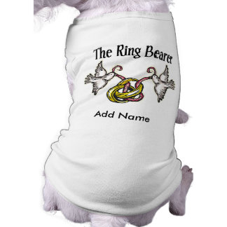 Personalized Ring Bearer Gifts Shirt