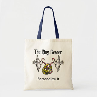 Personalized Ring Bearer Gifts Tote Bag