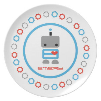 Personalized Robot Plate