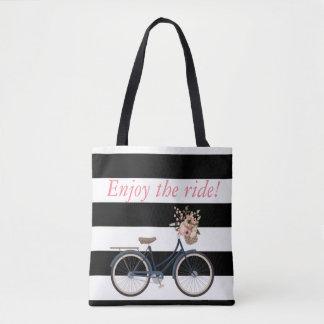 Personalized rustic bike Bag