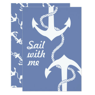 Personalized sailing together card