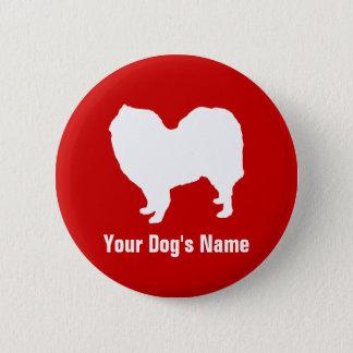 Personalized Samoyed サモエド 6 Cm Round Badge