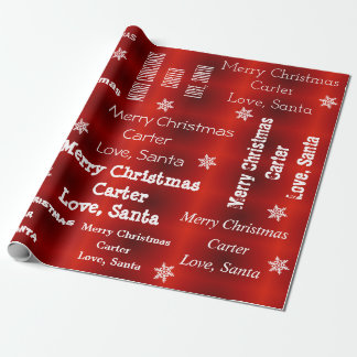 Personalized Santa Christmas