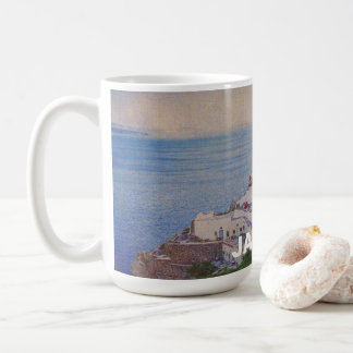 Personalized Santorini Greece Mug