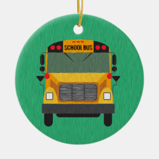 Personalized School Bus / Bus Driver Gift Ornament