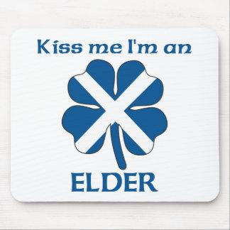 Personalized Scottish Kiss Me I'm Elder Mouse Pad