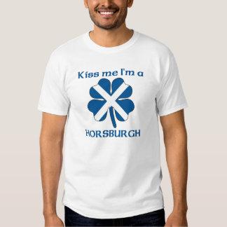 Personalized Scottish Kiss Me I'm Horsburgh Tshirts