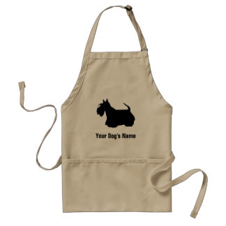 Personalized Scottish Terrier スコティッシュ・テリア Standard Apron