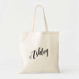 Personalized Script Tote Bag- Ashley