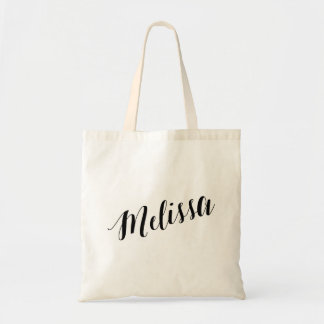 Personalized Script Tote Bag- Melissa
