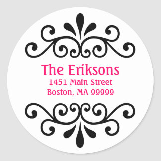 Personalized Scroll Address Labels