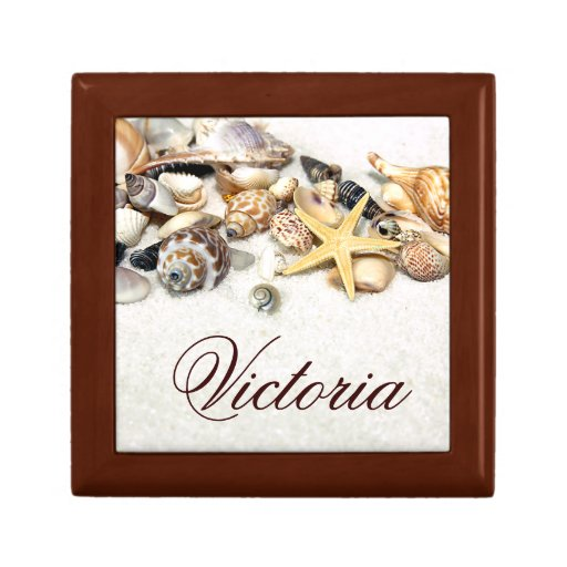 Personalized Seashells Gift Box