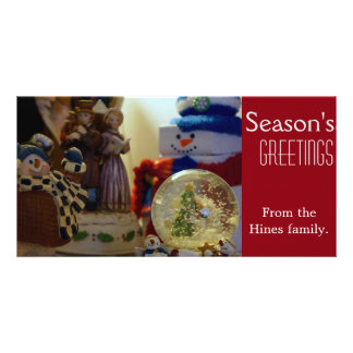 Personalized Season's Greeting card Personalized Photo Card