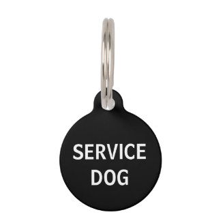 Personalized Service Dog Pet Tag