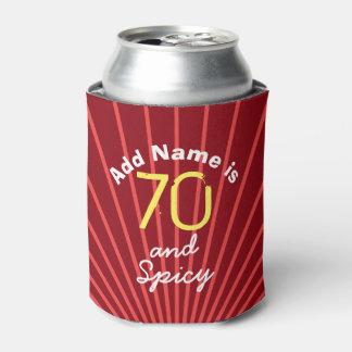 Personalized Seventy Spicy 70th Birthday Gag Gift