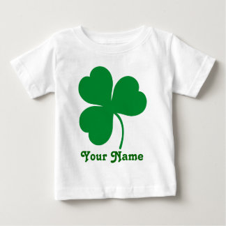 Personalized Shamrock Irish St Patrick's Day Gift Baby T-Shirt