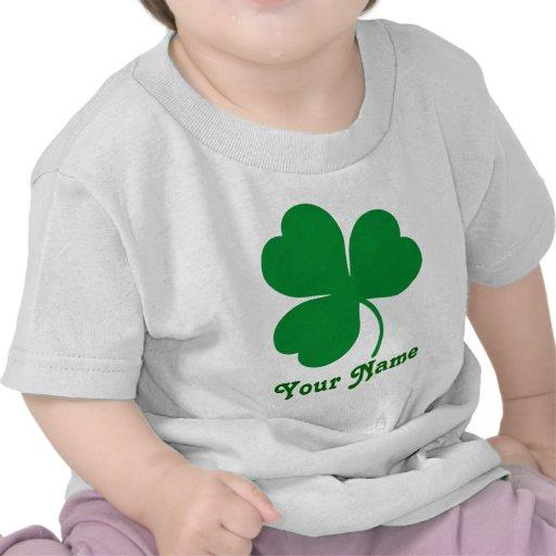 Personalized Shamrock Irish St Patrick's Day Gift Tshirts
