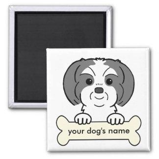 Personalized Shih Tzu Magnet