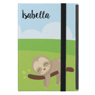 Personalized Sleepy Sloth Ipad Mini Case