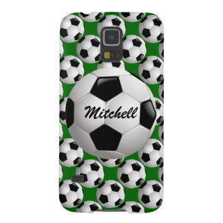 Personalized Soccer Ball on Football Pattern Cases For Galaxy S5