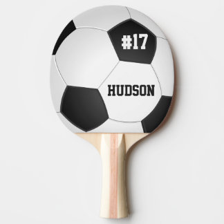 Personalized Soccer Ball Ping Pong Paddle