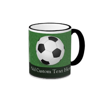 Personalized Soccer Ball Ringer Mug