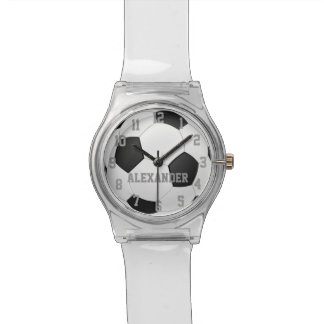 Personalized Soccer Ball Sports Watch