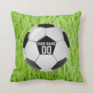 Personalized Soccer Cushion
