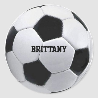 Personalized Soccer Stickers