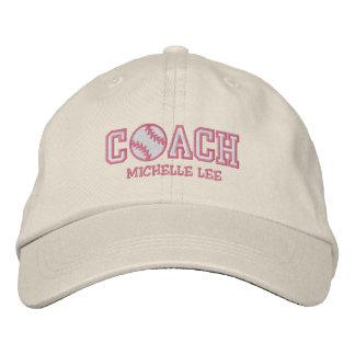 Personalized Softball Coach Baseball Cap
