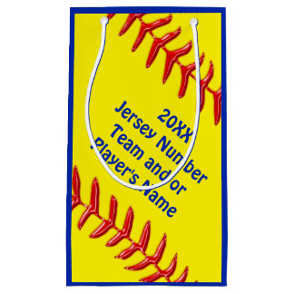 Personalized Softball Goodie Bags in 4 Sizes