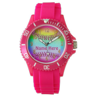 Personalized Softball Watches for Girls and Women
