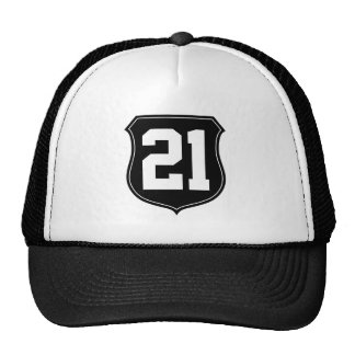 Personalized sports cap   Hat with custom number