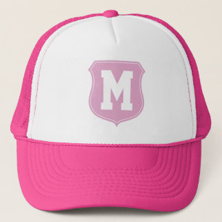 Personalized sports cap | Pink monogrammed hat