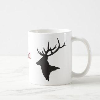 Personalized Stag Coffee Mug