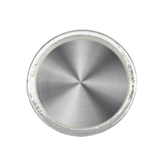 Personalized Stainless Steel Metallic Radial Look