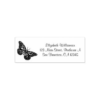 Personalized Stamp with a Beautiful Butterfly