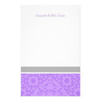 Personalized Stationary Wedding Thank You Notes Stationery