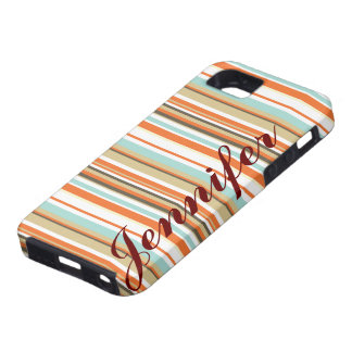 Personalized Stripe IPhone 5 vibe Case